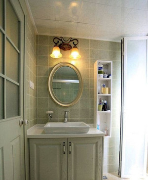 欧美风格打造的时尚大气卫浴时代装修效果图
