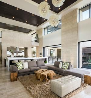 别墅沙发装修欣赏