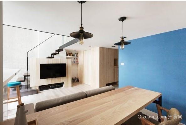 实用loft小户型跃层式住宅装修设计效果图
