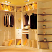 暖色调衣柜设计大全
