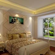 大户型卧室壁纸装修
