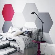 简约风格床头背景墙
