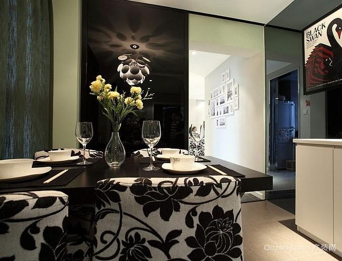 经济实用型90平米小户型两室一厅装修效果图