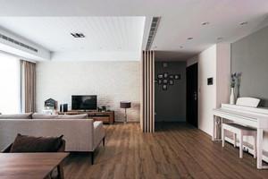 凸出空间规划感的90㎡三室一厅家居装修效果图
