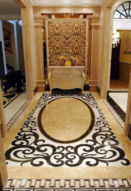 豪华大方的三室二厅进门玄关装修效果图鉴赏