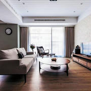 三室两厅木地板装修