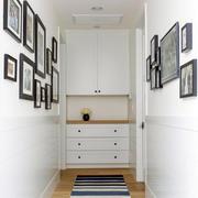 唯美型鞋柜设计图片