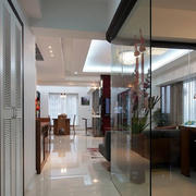单身公寓玻璃隔断设计
