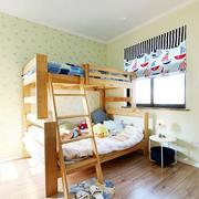 儿童房双人床装修