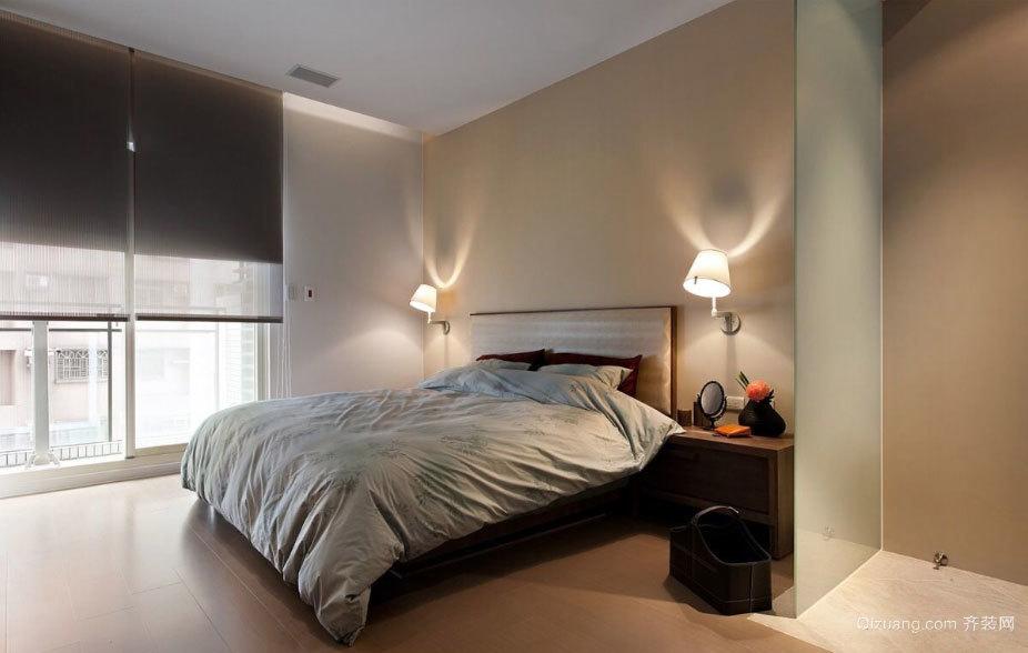 两室一厅浪漫温馨的混搭风格卧室装修效果图