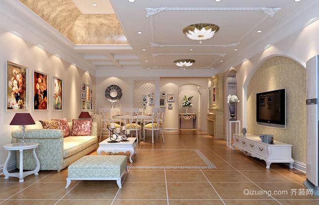 精巧玲珑的两居室家居装修效果图鉴赏