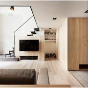 跃层小户型木地板装修