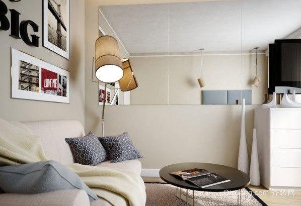 90平米白领小资们喜爱的公寓装修效果图
