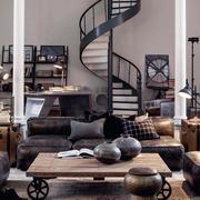 公寓楼梯装修图片