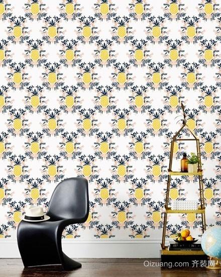 绚丽多姿的现代墙面水果装饰画装修效果图