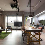 宜家风格公寓装修案例