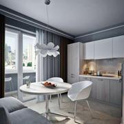 单身公寓餐桌设计