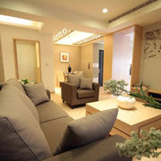 暖色调单身公寓欣赏