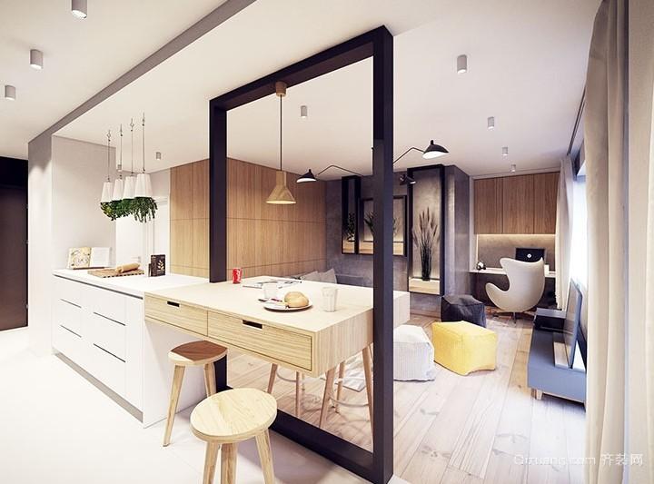 空间不够收纳来凑小户型室内装修设计效果图