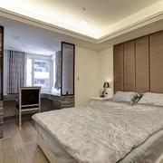 自然风格卧室壁纸装修