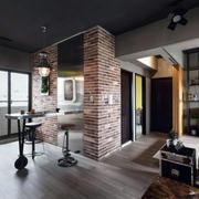 深色调公寓装修设计