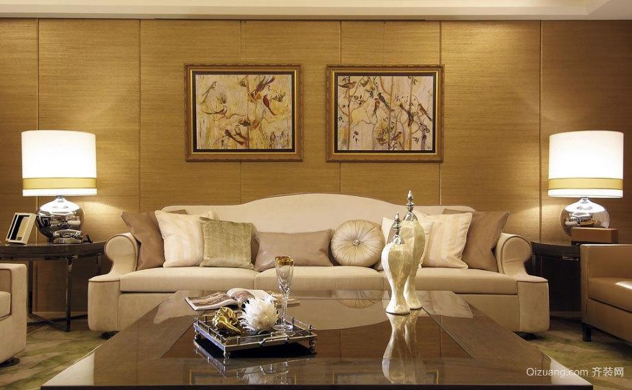 150平米极具优雅的新古典房屋装修效果图