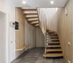2015造型精致的阁楼楼梯装修效果图鉴赏