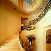 精致型别墅楼梯装修