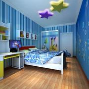 儿童房木地板设计