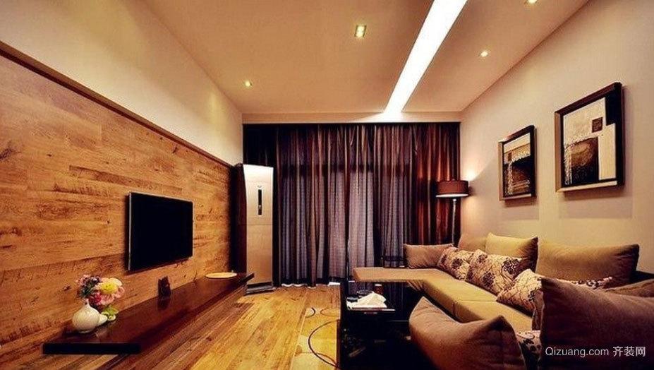 150平米复式咖色文艺家超爱的房屋装修效果图