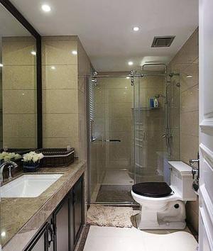 150平米华而不奢的美式三室两厅装修效果图