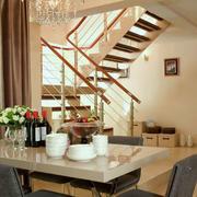自然风格阁楼楼梯装修