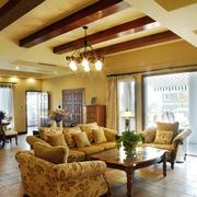 暖色调家居设计图片