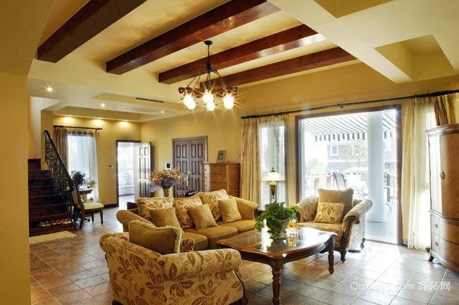 248平米奢华复式楼家居装修效果图鉴赏