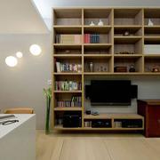 一居室小户型书架图片