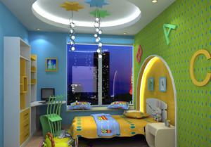 清新型儿童房设计
