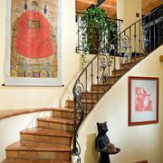 时尚风格别墅楼梯装修