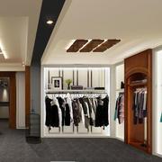 服装店背景墙效果图
