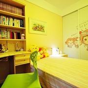暖色调儿童房装修