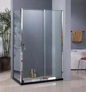 整洁明亮的欧式卫生间玻璃隔断效果图鉴赏