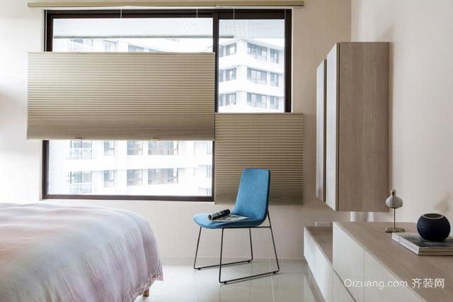 现代简约二居室小户型装修设计图