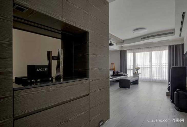 115平米自由随性两室一厅室内装修设计效果图