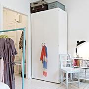 单身公寓木地板设计