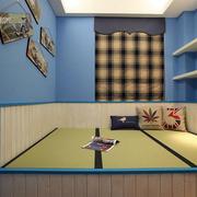 卧室飘窗窗帘设计