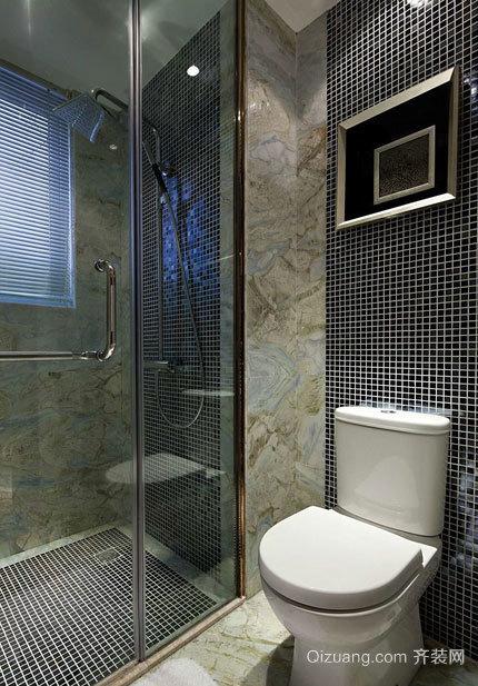 富有创意的小户型卫生间门装修效果图