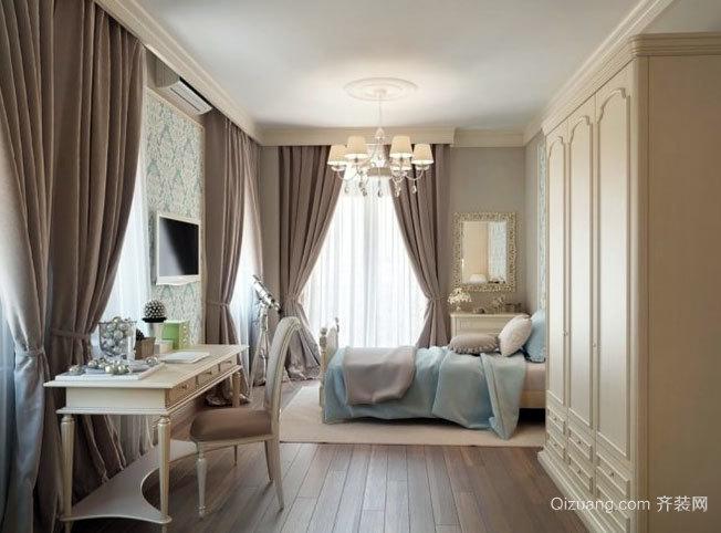 100平米欧式高档公寓家居装修效果图鉴赏