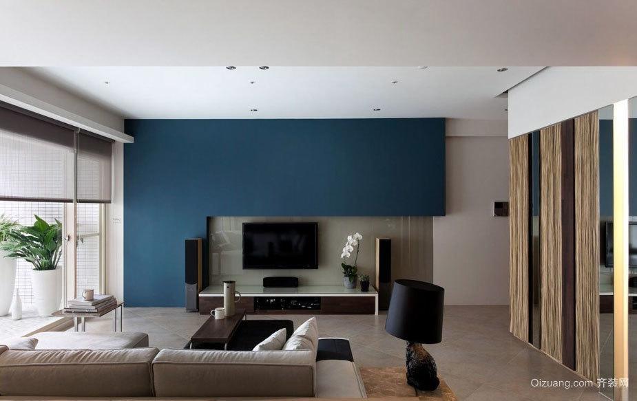 150平米时尚简约低调奢华得公寓装修效果图