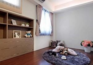 80平米收纳于无形的两室一厅室内装修设计效果图