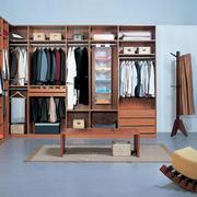 木色调衣柜设计大全
