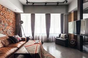 搭配精细的90㎡北欧现代感家居装修效果图